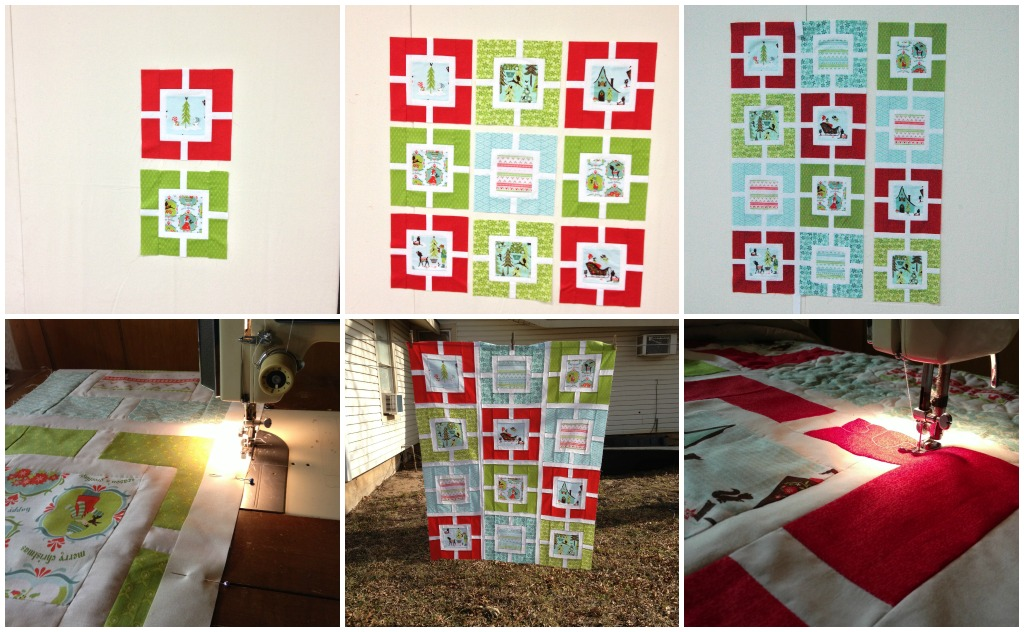 Christmas Quilt Collage 2