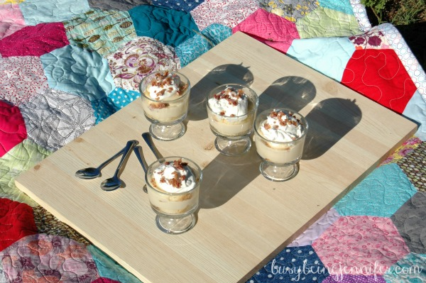 Maple Bacon Trifle ~ busybeingjennifer.com