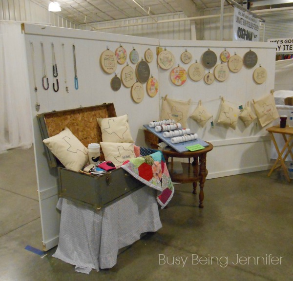 Booth Set Up 1 ~ Busy Being Jennifer