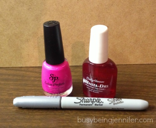 things you need for Neon Polk-a-Dot Nails! - busybeingjennifer.com