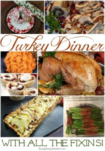 Turkey Dinner with all the Fixins - BusyBeingJennifer.com #turkeyDinner #Thanksgiving #Recipes