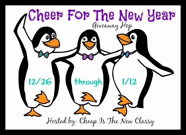 Cheer For the New Year Giveaway on BusyBebeingJennifer.com