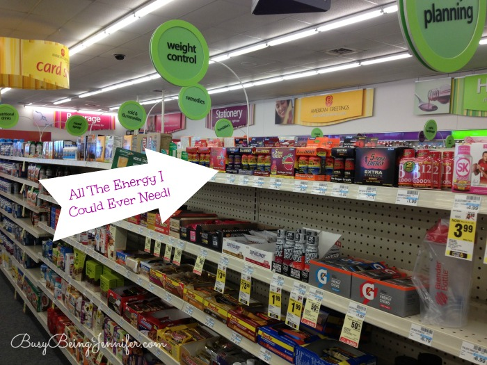 All The Energy I could Ever Need in on Aisle at CVS - BusyBeingJennifer #ThisIsMySecret #Shop #SummerEnergy #SummerLovin