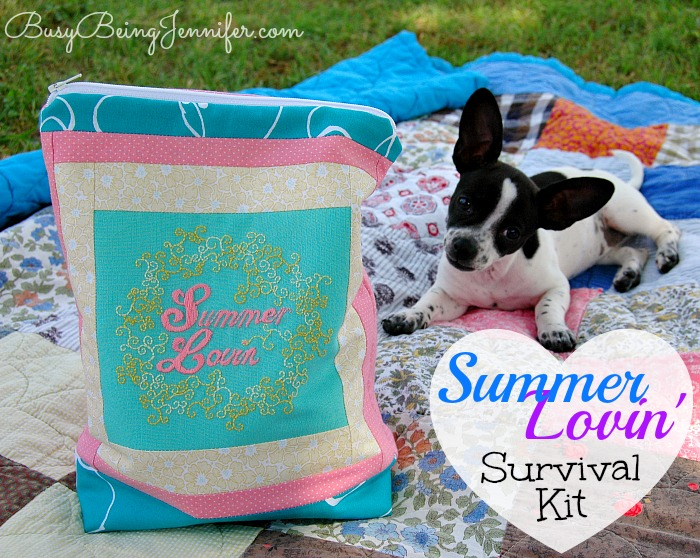 Summer Lovin' Survival Kit - Everything I could possibly need anytime I leave the house ) - BusyBeingJennifer #ThisIsMySecret #SummerTime #SummerFun #SummerAdventures #shop #SummerLovin