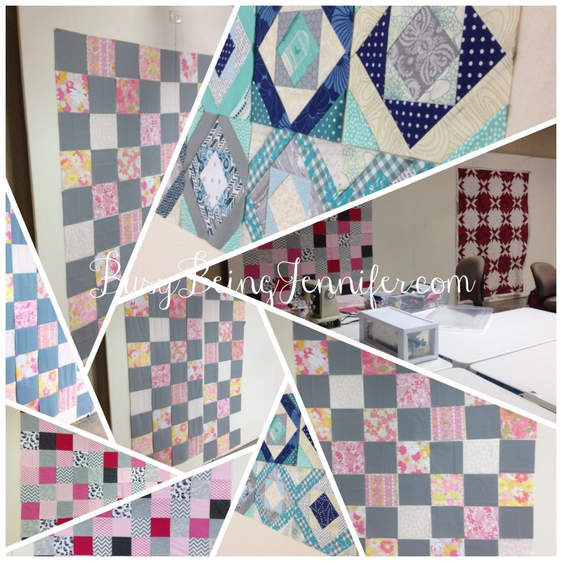 Crazy Quilting Day at Sunset Retreat - BusyBeingJennifer.com