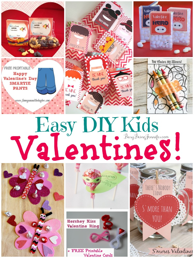 Easy DIY Kids Valentines - Busy Being Jennifer