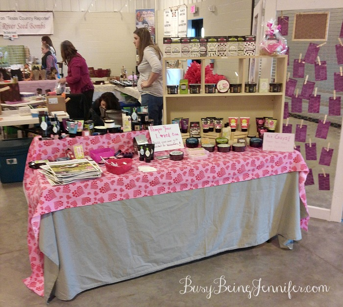 Posh Set Up for February's Market Weekend