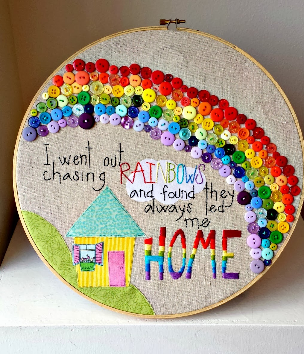 8 rainbow projects for adults for Painting projects for adults