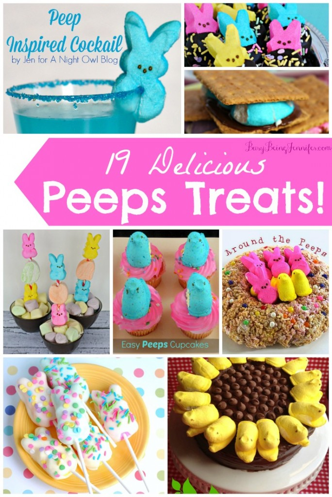 Delicious Peeps Treats from BusyBeingJennifer.com