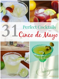 31 Perfect Cocktails for Cinco de Mayo from BusyBeingJennifer.com