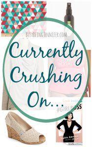 Currently Crushing On... - BusyBeingJennifer.com