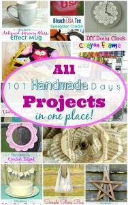 ALL 101 Handmade Days Projects in One Place! - BusyBeingJennifer.com #101HandmadeDays