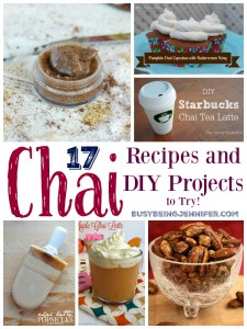 17 Chai Recipes and DIY Projects to Try - BusyBeingJennifer.com