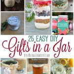 These 25 Easy DIY Gifts in a Jar are perfect for Christmas from BusyBeingJennifer.com