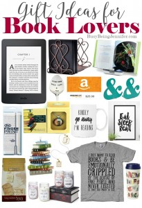 Gift Ideas for Book Lovers - BusyBeingJennifer.com