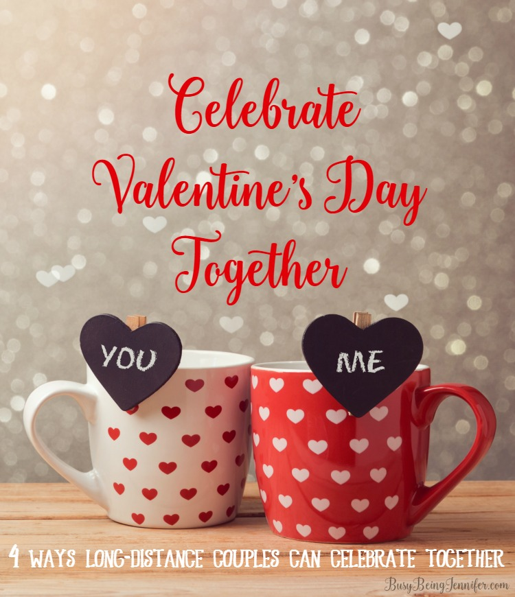 ideas for how long distance couples can celebrate valentine's day, Ideas
