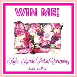 Kate Spade Bag Giveaway on BusyBeingJennifer.com (Ends 2/8/2016)