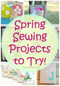 15 Spring Sewing Projects to Try - BusyBeingJennifer.com