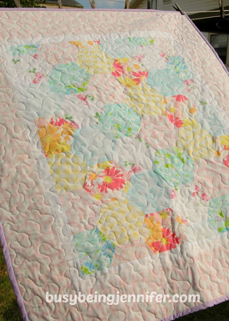 Hexi-Baby-Quilt-using-Vintage-Sheets-busybeingjennifer.com_-729x1024