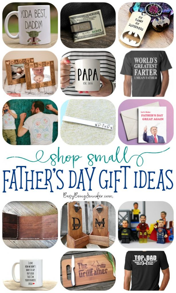 Unique Gift Ideas for Father's Day! {Shop Small} - Busy ...