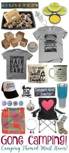 Gone Camping - Camping Themed Must Haves! - BusyBeingJennifer.com