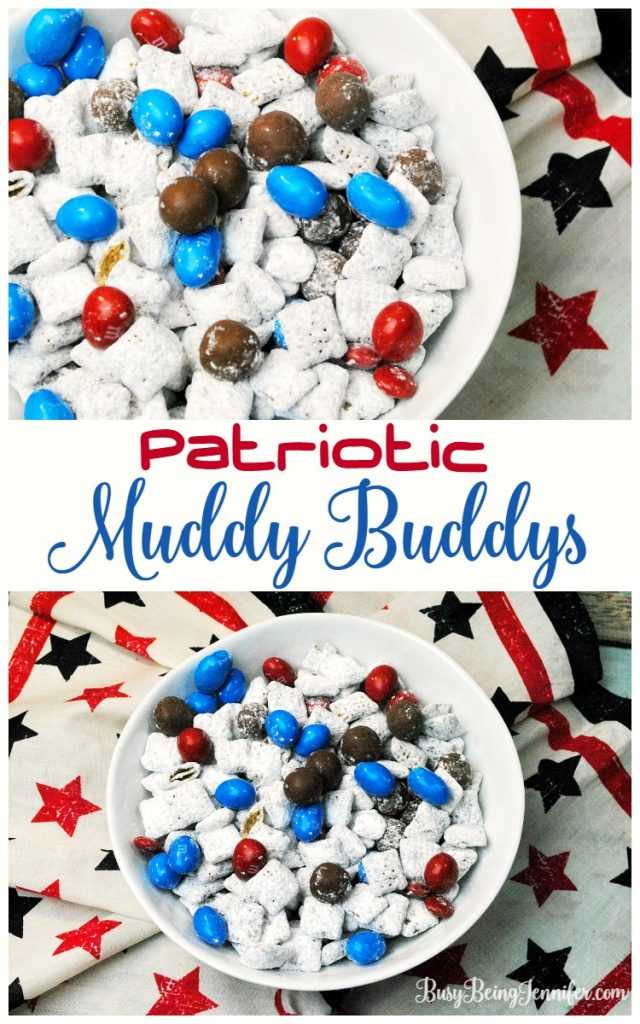 Patriotic Muddy Buddys