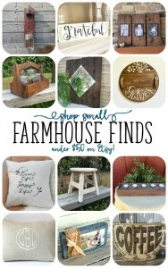 Favorite Farmhouse Finds - The Perfect Farmhouse Finds for your Home ALL under $50! - BusyBeingJennifer.com