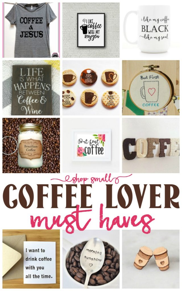 Must Haves for the Coffee Lover in your life - BusyBeingJennifer.com