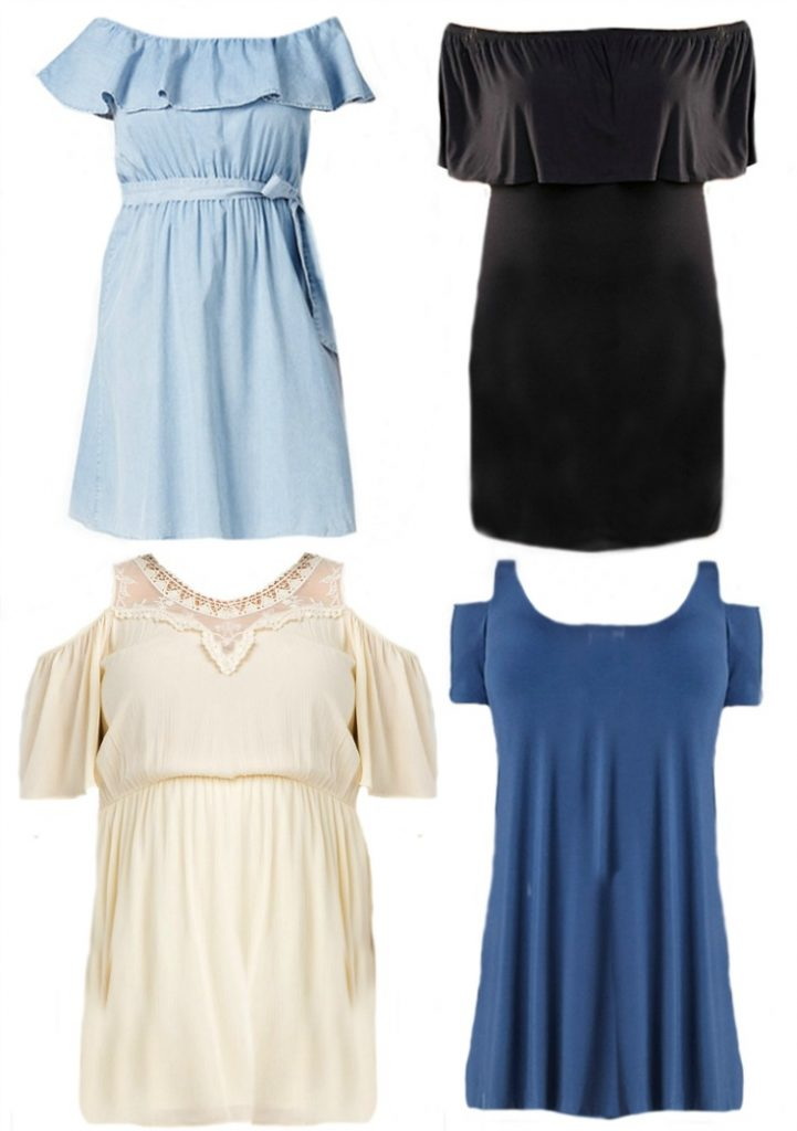 Style Trend Off the Shoulder Dresses - BusyBeingJennifer.com