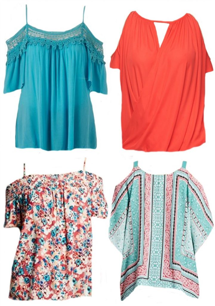 Style Trend Off the Shoulder Tops