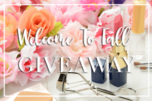 Welcome to Fall Giveaway!