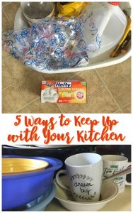 5 Ways to Keep Up with Your Kitchen with Hefty! - BusyBeingJennifer.com