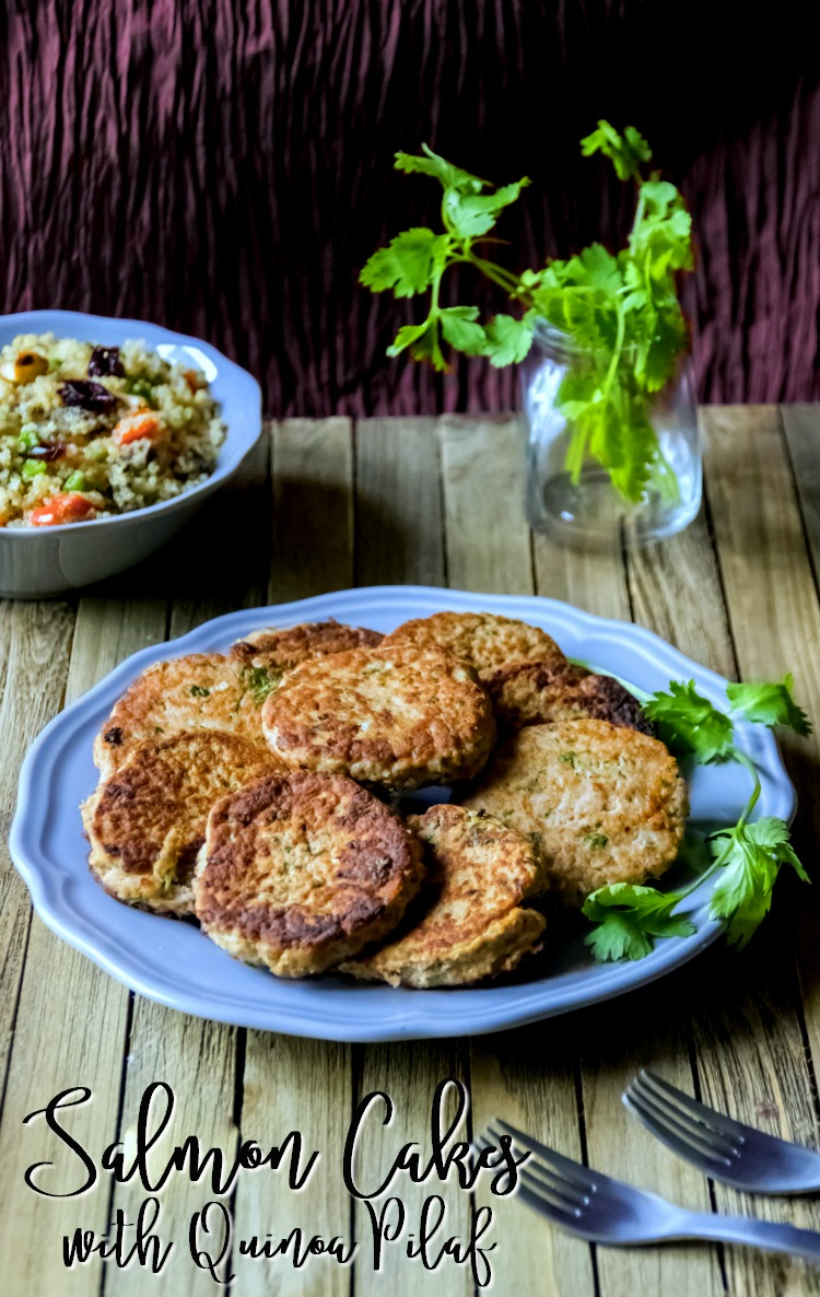 salmon-cakes-with-quinoa-pilaf-busybeingjennifer-com