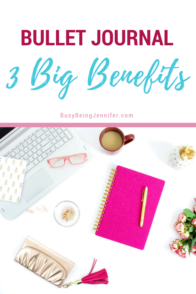 Talking about the 3 Big Benefits Of Bullet Journaling!