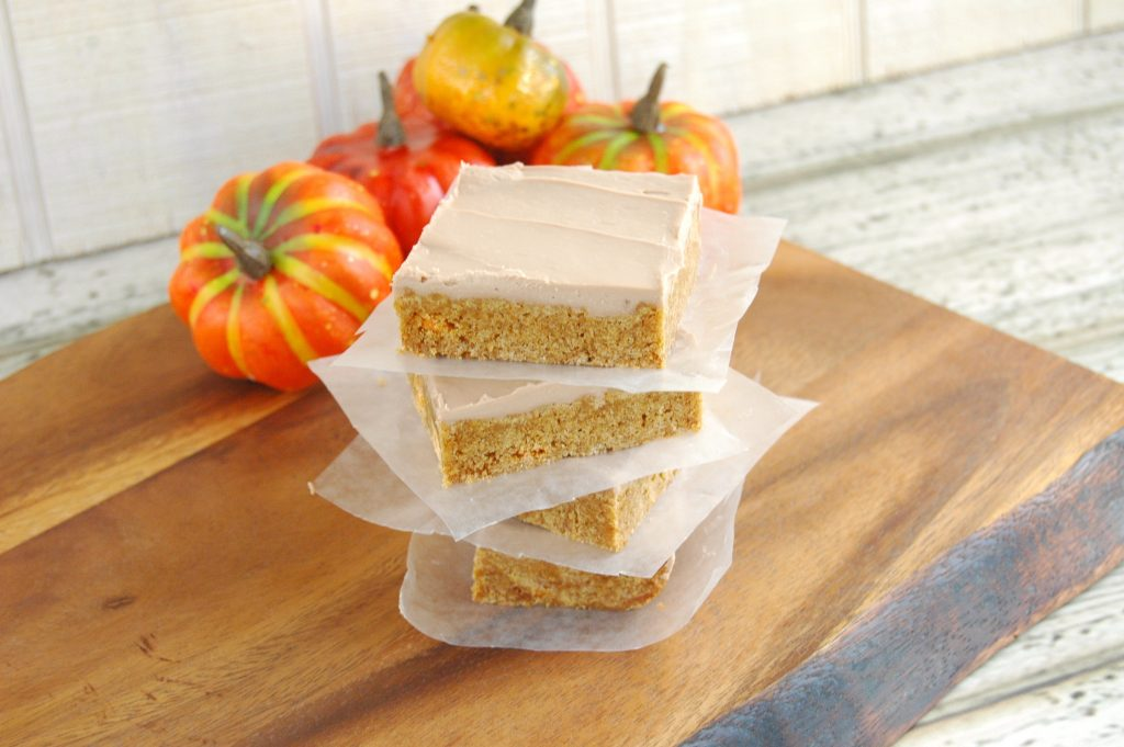 pumpkin-spice-bars-with-maple-bourbon-frosting-1