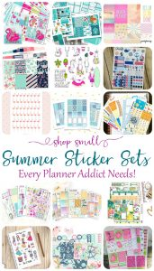 Summer Sticker Sets that are a Must!