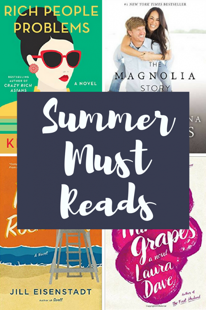 Summer Must Reads! - 10 books you don't want to miss out on this summer!