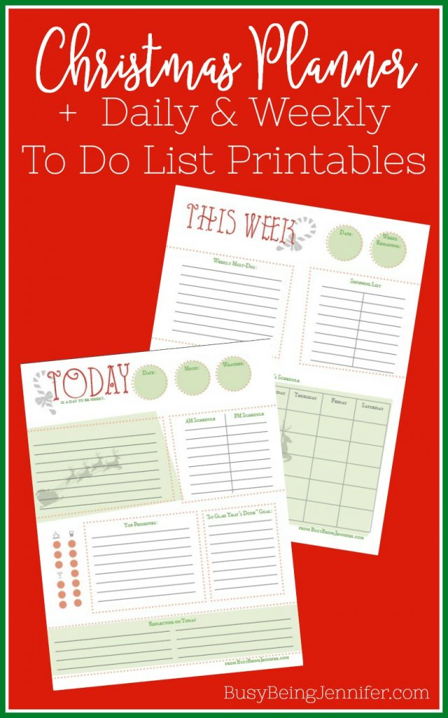 this christmas planner to do list printable solves all that it is a very simple distilled version of a planner broken up into manageable sections that