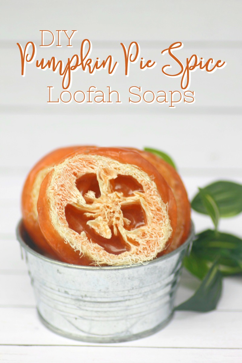 These DIY Pumpkin Pie Spice Loofah Soaps is a fantastic for exfoliating, cleaning and moisturizing your skin! Not to mention, they smell AMAZING!