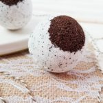 This coffee lover will take her coffee in any form she can get it! And that includes the bath :) If you are (or know) a coffee lover, you need these Hazelnut Coffee Bath Bombs in your life!