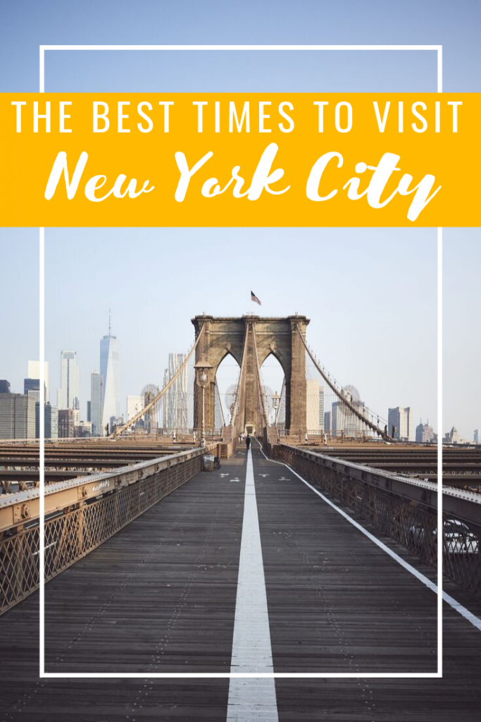 The best time to visit New York City: There's a welcome mat that New York rolls out from that last Thursday in November through to New Year's Day.