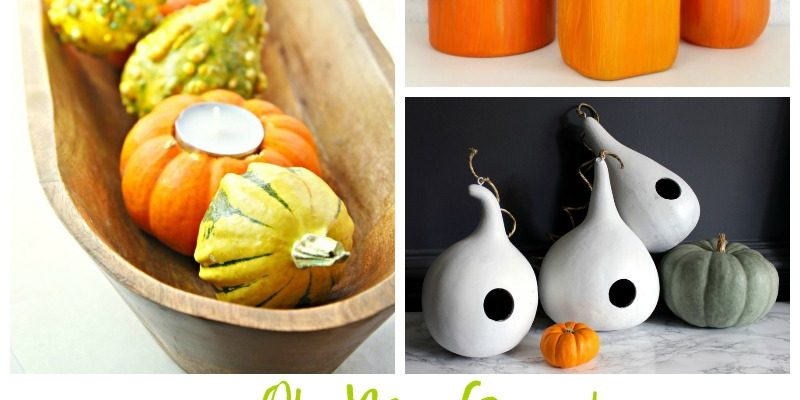 Oh My Gourd Projects + a Giveaway